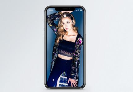 个性美女手机壁纸图片