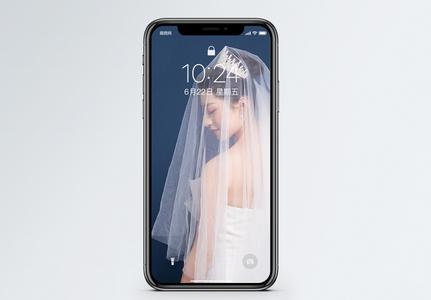 婚纱美女手机壁纸图片