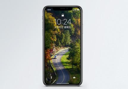 唯美公路手机壁纸图片