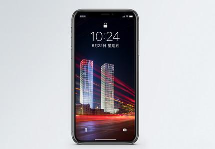 城市夜景手机壁纸图片