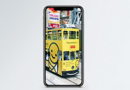 双层巴士手机壁纸图片