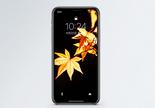 秋叶手机壁纸图片