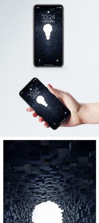 创意光源手机壁纸图片