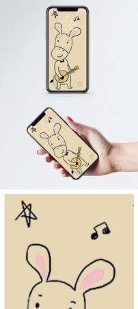 小马卡通手机壁纸图片