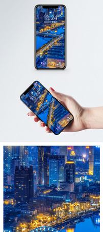 天津夜景手机壁纸图片