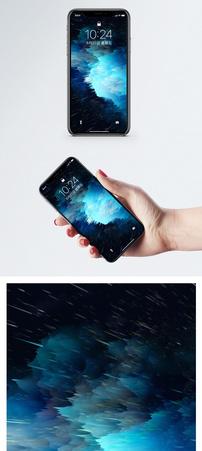 喷溅效果手机壁纸图片