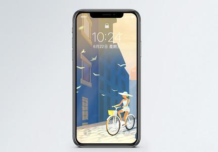 一个人的旅行手机壁纸图片