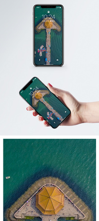 青岛栈桥手机壁纸图片