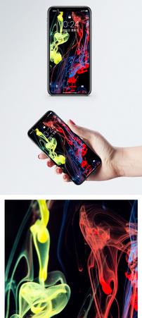 流动颜料手机壁纸图片