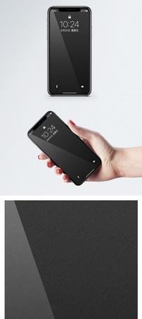 黑色背景手机壁纸图片