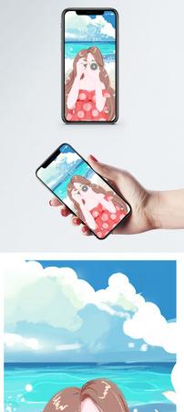 卡通手机壁纸图片