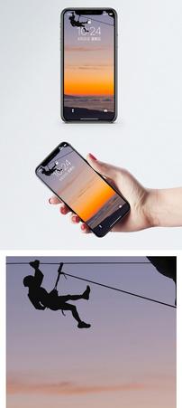登山攀爬手机壁纸图片