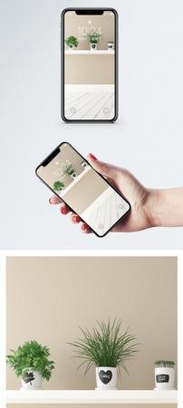 简约室内背景手机壁纸图片