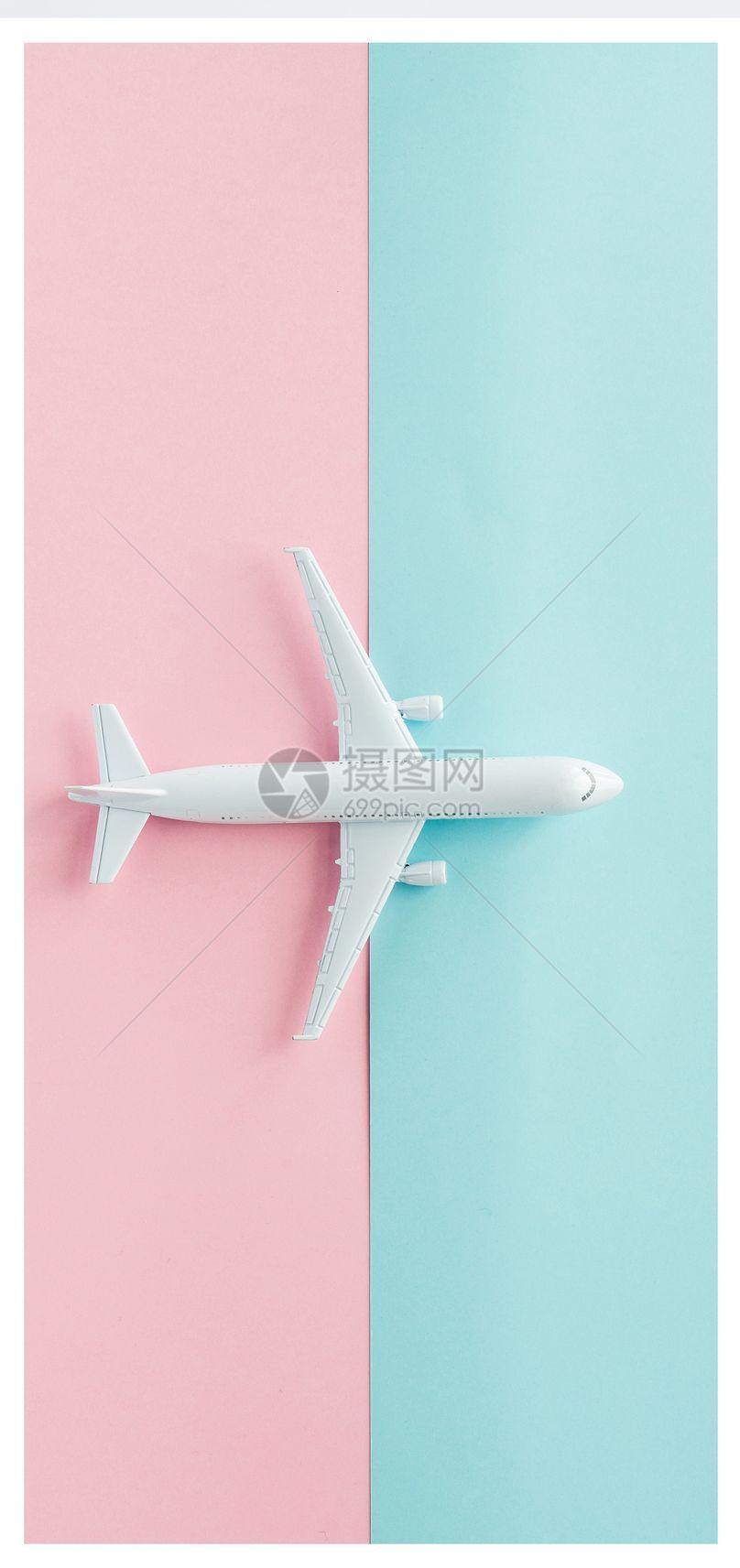 飞机模型手机壁纸图片