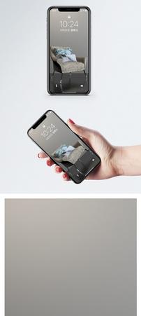 家居沙发手机壁纸图片