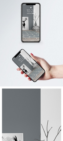 极简家居手机壁纸图片