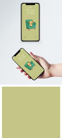沙发狗手机壁纸图片