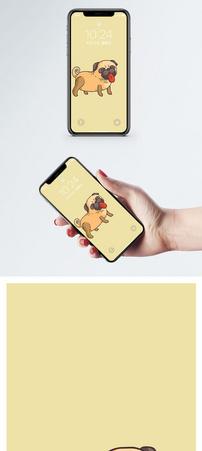 宠物狗手机壁纸图片