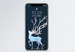 麋鹿手机壁纸图片