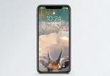 麋鹿梦幻手机壁纸图片