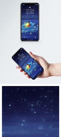 梦幻小船手机壁纸图片