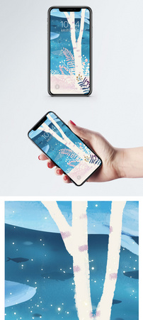 小清新插画手机壁纸图片