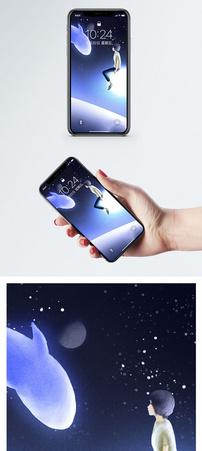 梦中星海手机壁纸图片