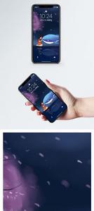 少女与鲸手机壁纸图片