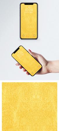 金黄色磨砂背景手机壁纸图片