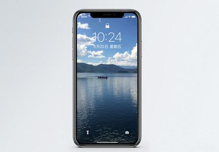 美丽的泸沽湖手机壁纸图片