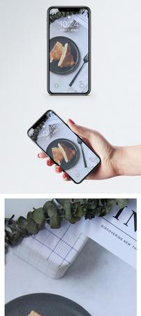 早餐面包手机壁纸图片