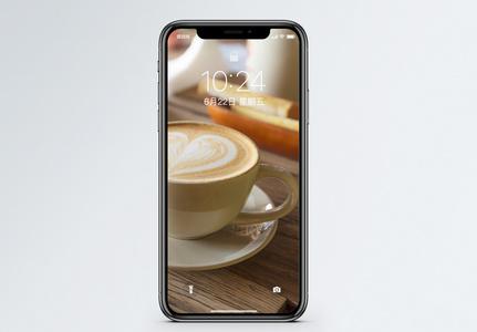 花式咖啡手机壁纸图片