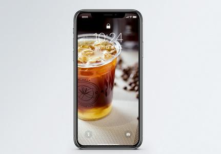 冰咖啡手机壁纸图片