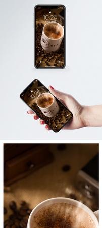 苦咖啡手机壁纸图片