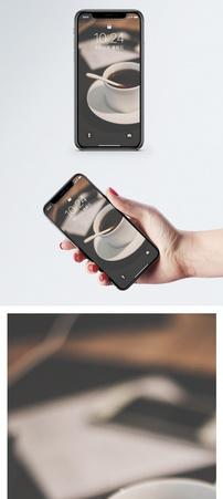 咖啡手机壁纸图片