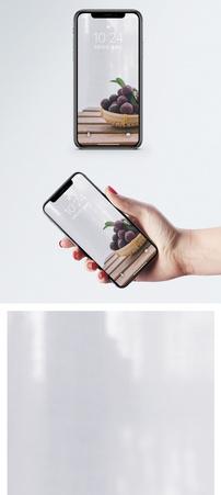 新鲜杨梅手机壁纸图片