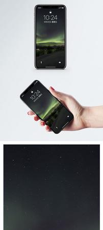 极光手机壁纸图片