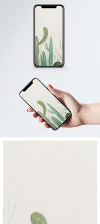 治愈植物背景手机壁纸图片