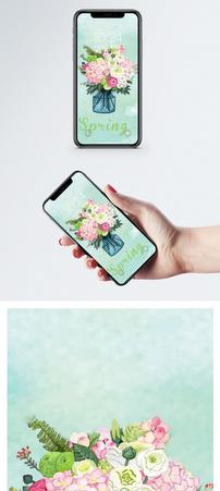 装饰花手机壁纸图片