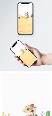 可爱的猫咪手机壁纸图片