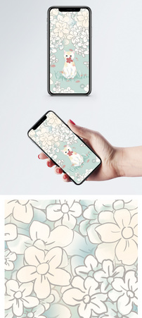猫咪手机壁纸图片