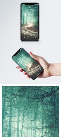 幽静小路背景手机壁纸图片