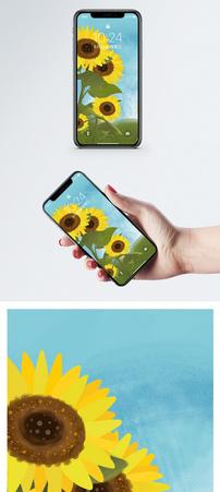 向日葵手机壁纸图片
