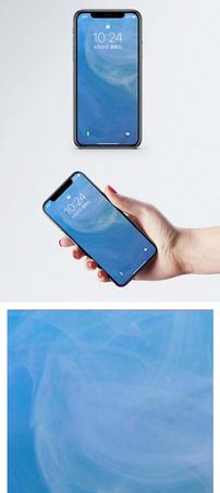 色彩流体背景手机壁纸图片