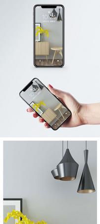 简约橱柜组合手机壁纸图片