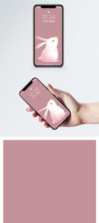 小兔子手机壁纸图片
