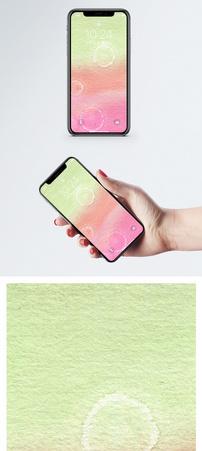 水彩抽象画手机壁纸图片