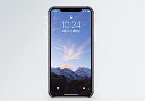 雪山风景手机壁纸图片