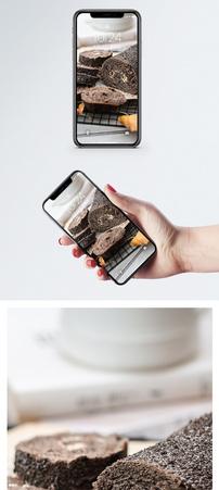黑色欧包手机壁纸图片