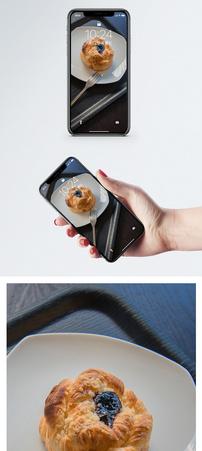 面包食材图手机壁纸图片